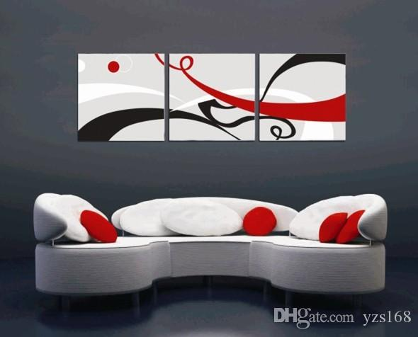 Best Abstract Oil Painting Canvas Black White Grey Modern Decoration  Handmade Home Office Wall Art Decor Abstract Painting Under $23.12 |  Dhgate.Com