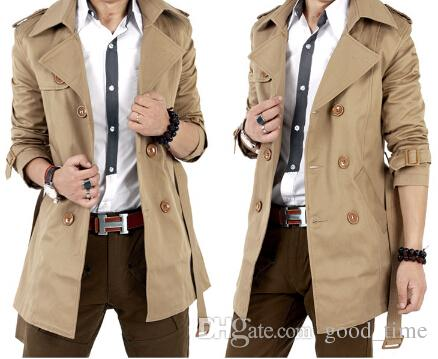 acheter trench coat double breasted trench hommes classic. Black Bedroom Furniture Sets. Home Design Ideas