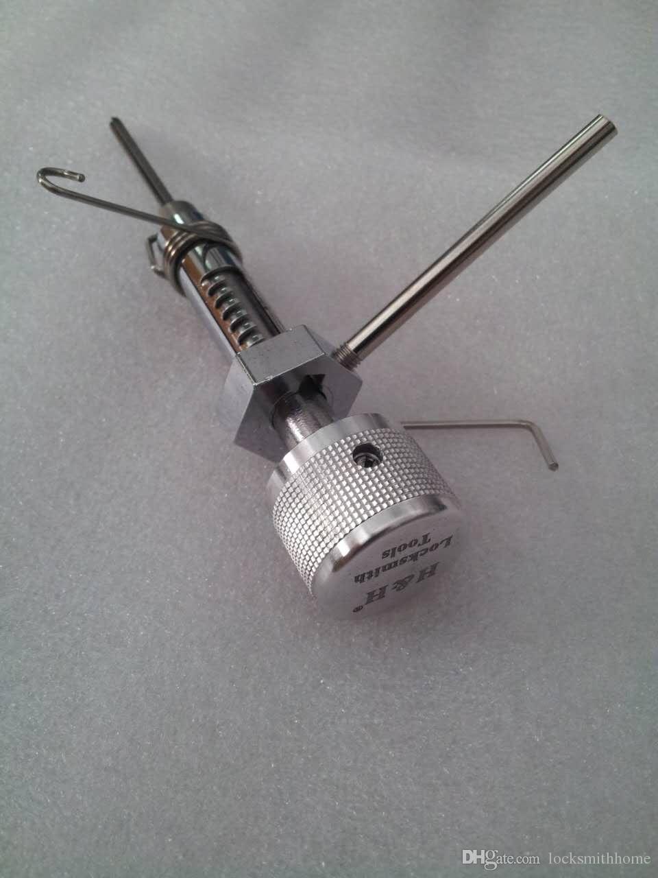 Garrison Mul-T-Lock Garrison 7 Pin Block Skinksmith Tools BlockPick Set Block Selects Strumenti Porta Apri