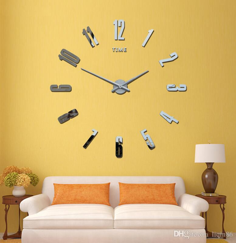 3 D Large Wall Clock Wall Stick Clock Bracket Clock 120 Cm
