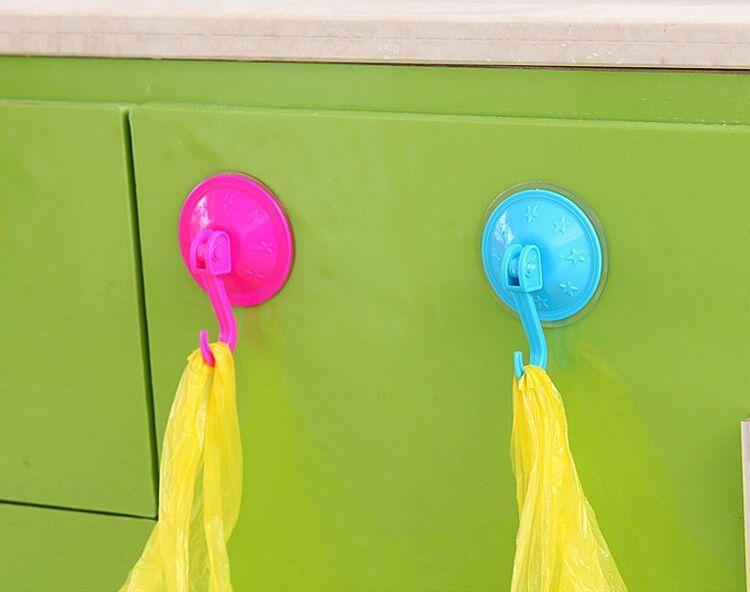 Aspiratore a ventosa Cucina Bagno Appendini in plastica Ventosa a ventosa a vuoto uso domestico