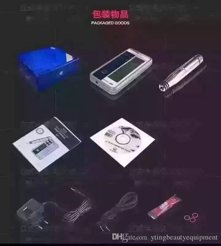 Máquina permanente digital da composição de 2016 / micro máquinas Nano dos bordos da sobrancelha da composição da tatuagem da agulha micro pena