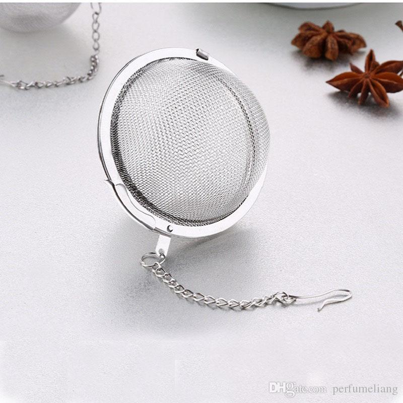 High Quality Tea Bags Food Grade 304 Stainless Steel Mini Tea Ball Infuser Filter Loose Tea Leaves Strainer ZA0389