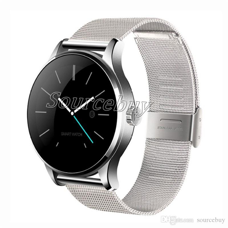Classic K88H Smart Watch Bluetooth Healthy Smartwatch Heart Rate Monitor Wearable Devices Waterproof Sports Wristwatch For IOS Android Phone
