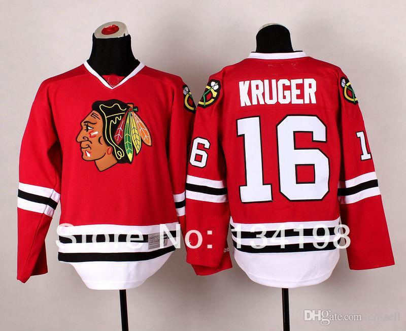 ... 2017 Cheap Stitched 2014 New Chicago Blackhawks 16 Marcus Kruger  RedWhite Ice Hockey Jersey Marian Hossa ... d74fc2946