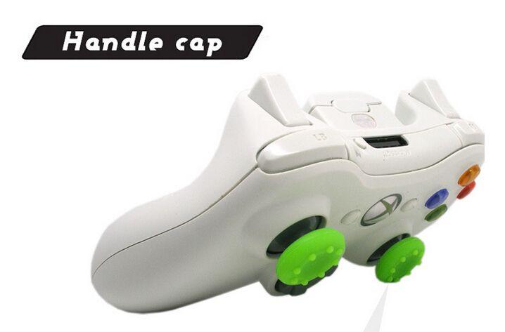 / weiche rutschfeste Silikon-Thumbsticks-Kappe Thumb-Stick Caps Joystick-Abdeckungen Griffe Abdeckung für PS3 / PS4 / Xbox One / Xbox 360 Controller