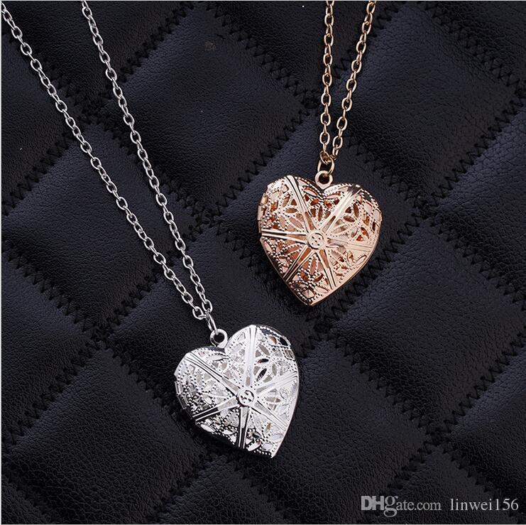 wholesale heart pendant silver rose gold color heart. Black Bedroom Furniture Sets. Home Design Ideas