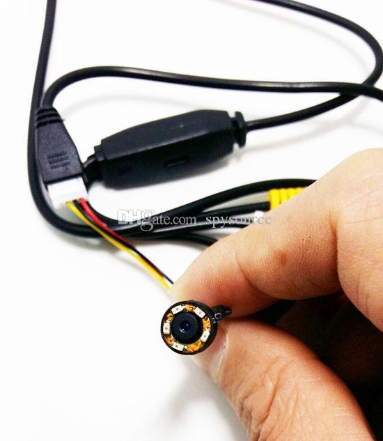600TVL Super Mini Wired CCTV Camera Color Night Vision Segurança Infravermelho Mini DV Video Cam Camera