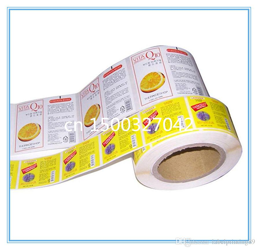 customized vinyl stationery package self adhesive label sticker
