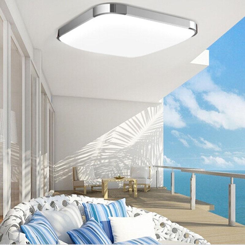 Moderne oberfläche montiert LED deckenleuchte Platz 15 Watt 30 CM led  Deckenleuchte küche licht schlafzimmer wohnzimmer kostenloser versand