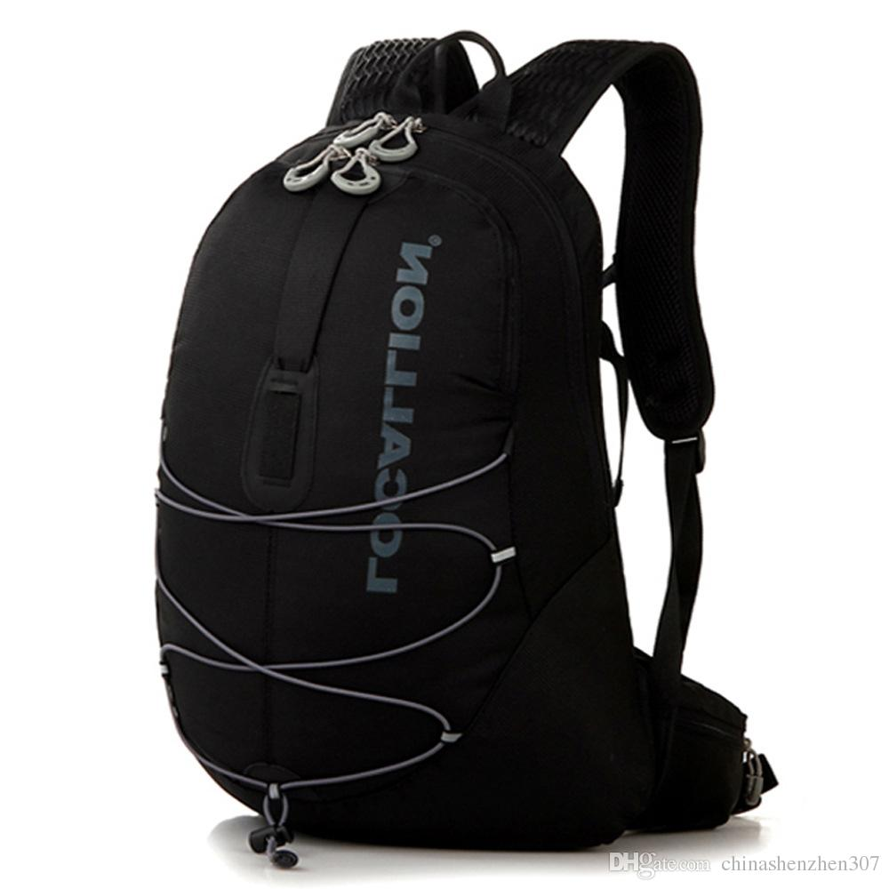 Outdoor traspirante Ultralight Equitazione Viaggi alpinismo idratazione del sacchetto di acqua della bici della bicicletta spalla Zaino 15L