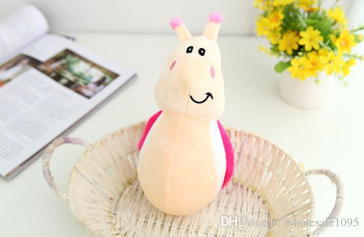 18cm Schnecken-Karikatur-nettes Plüsch-Spielzeug-Plüschtier spielt kühle Geschwindigkeit Schnecken-Plüsch-Spielwaren für Kindergeburtstagsgeschenk