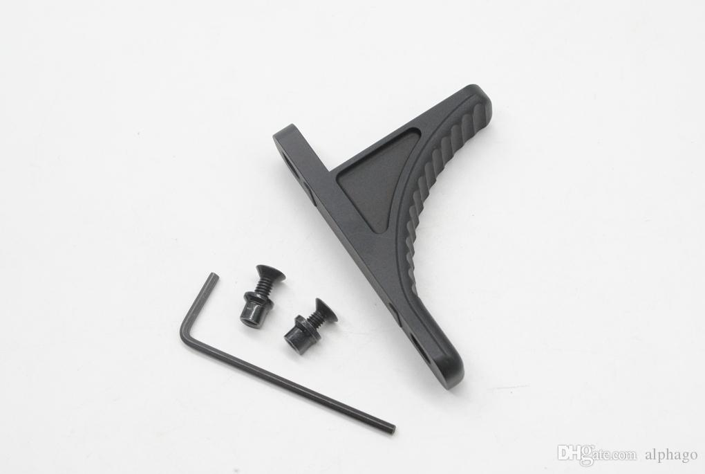 New Tactical Foregrip Front grip Vertical Grip Rail For Key Mod Handguard Aluminum Black