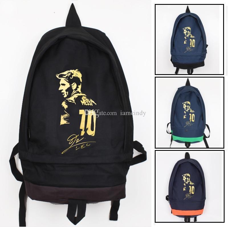 GIFT  A MESSI PVC FIGURE(7CM). GIFT! messi backpack for teenage boys girls  barce souvenir kids backpacks school bags ... 9890856c942a6