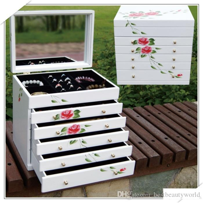 2017 Beautiful Jewelry Box Stand For Jewelry Earring Holder