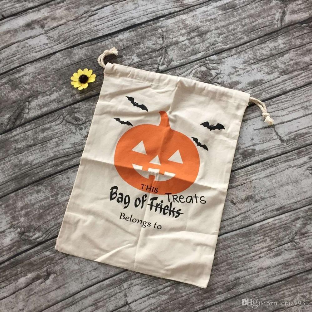 2016 halloween bags beige cloth halloweenjpg
