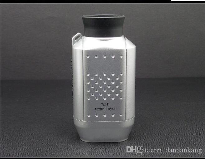 Portable Mini Digital Golf Scope Range Finder Entfernung 1000m mit gepolsterten Fall Rangfinder für Jagd Golf Range Finder