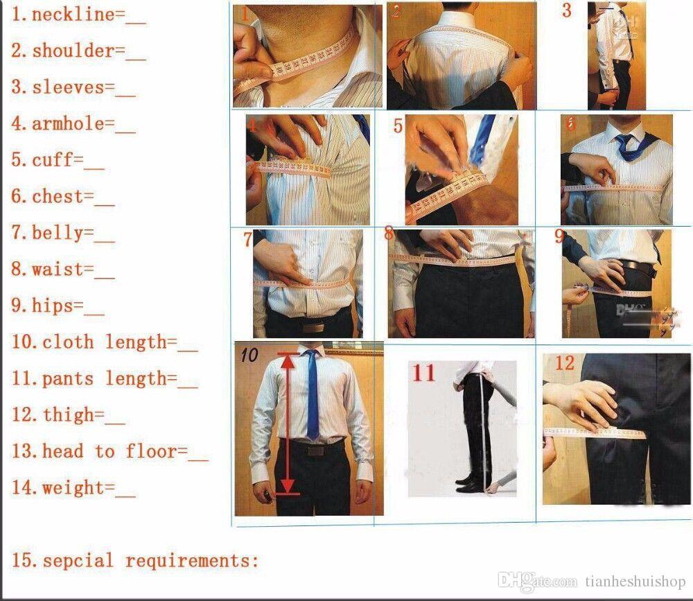 Blue men suits tuxedos new style groom wedding suits tuxedos tailor made groomsman prom suits for menjacket+vest+pants