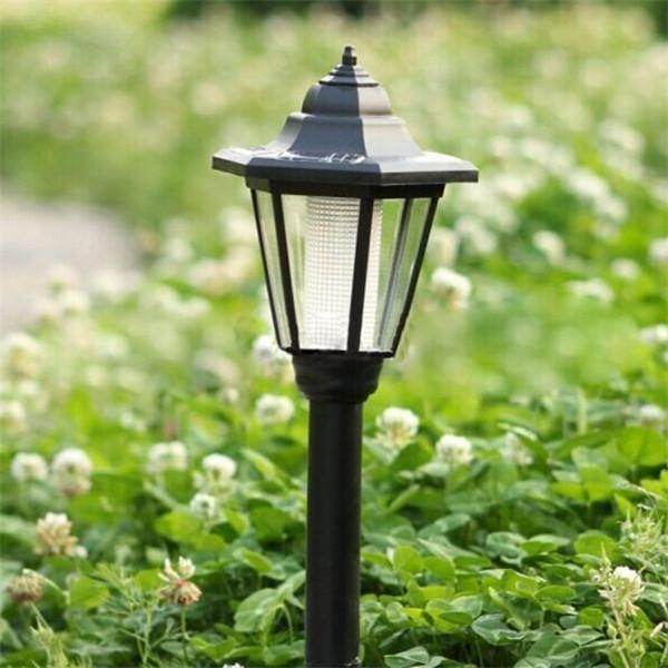 2019 LED Solar Lawn Lamp Waterproof Hexagon Lights Outdoor ...