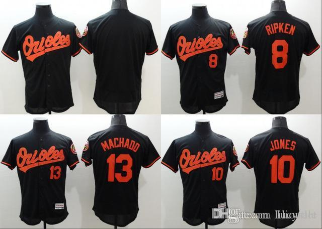 bc49020fc ... low cost material baltimore orioles jersey 8 cal ripken jersey 10 adam  jones stitch flexbase .
