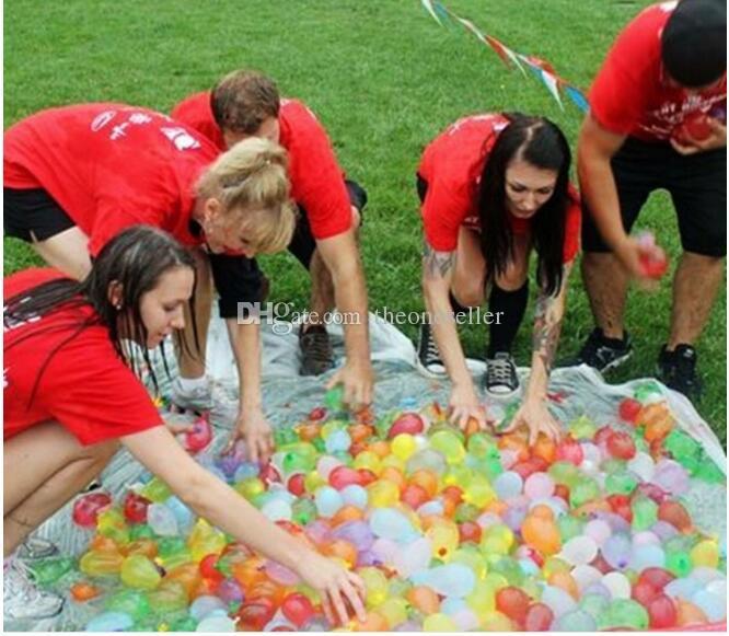50bagBunch Water Balloons Magic water balloons of refill bags balloons+Seals o-rings+pipe set magic balloons kit 1bag =120 balloons