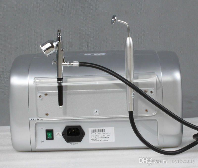 El agua del espray del oxígeno inyecta el rejuvenecimiento de la inyección de la máquina de la belleza del jet del hidrato de la inyección