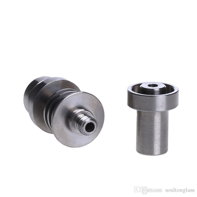Soulton Glass Titanium Nails 2016 Whoelsale Grade 2 Titanium Nail Domeless Male 14mm 18mm Titanium Nail TN-050