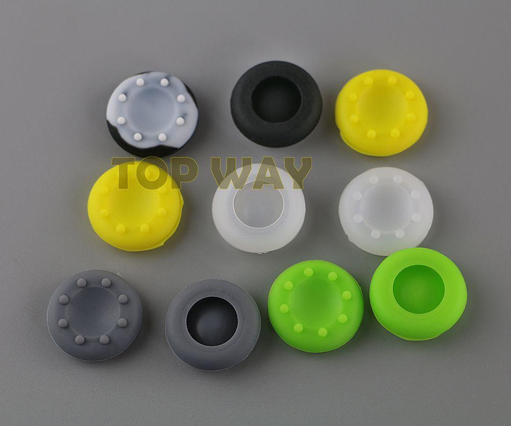 Многоцветный Силиконовый аналоговый контроллер Thumb Stick ручки крышки Крышки для Xbox360/Xbox One/PS3 / PS4 контроллер