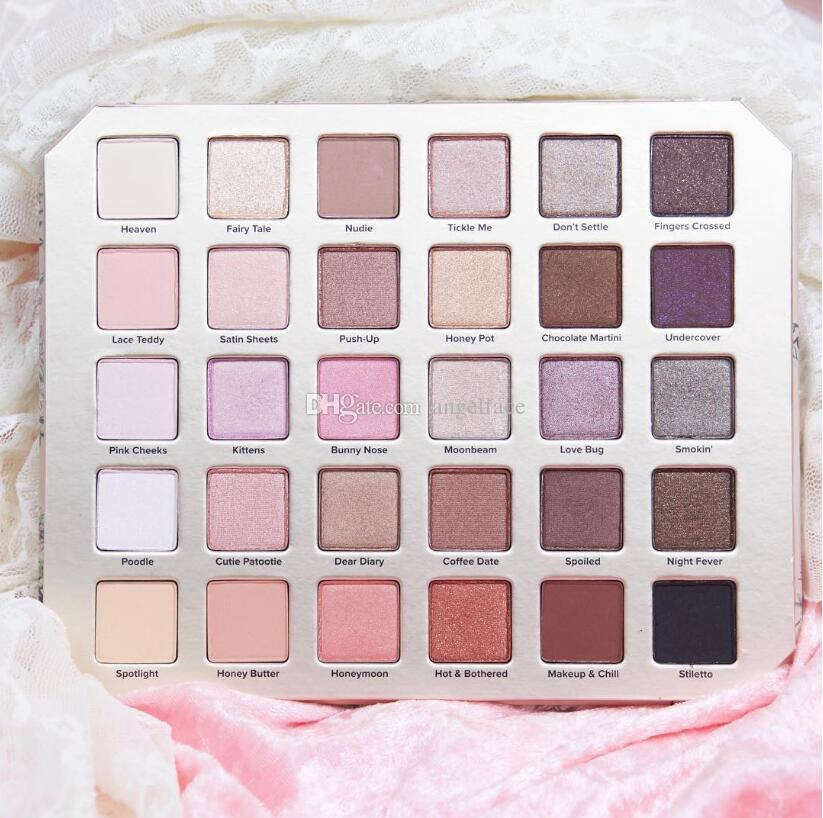 2017 New NEW Makeup Chocolate Natural Love Eye Shadow Collection Palette Ultimate Neutral Eye Shadow Palette DHL