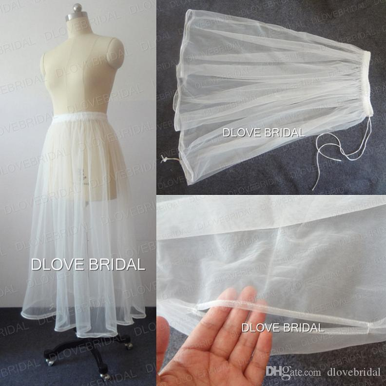 f6981565b9b6 Real Photo High Quality Bridal Wedding Dress Petticoat One Layer Tulle  Skirt Underskirt Save You From Toilet Water Gather Wedding Accessory  Organza ...