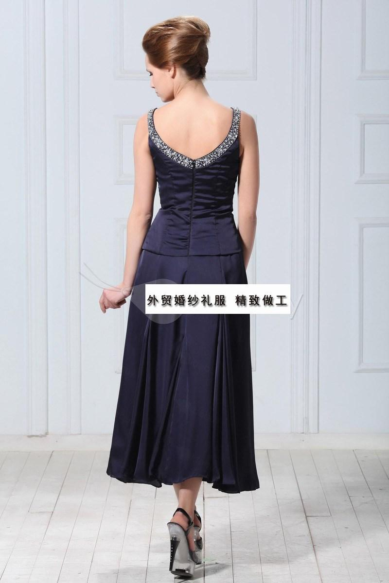 party Cheap crystal vestido de madrinha 2018 new fashionable gorgeous Mother of the Bride Dresses with jacket