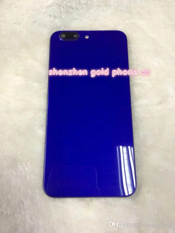 Пользовательский стиль дизайн jet цвет корпуса для iphone6 плюс корпус задняя панель для iphone8 для iphone X outlooking стиль мини задняя дверь