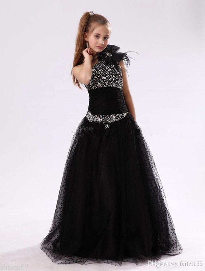 Latest First Communion Dresses For Girls Sparkle Sequin Party ...