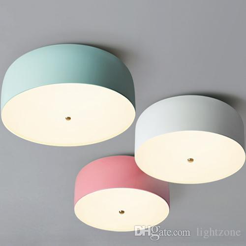 grohandel neues design led deckenleuchten wohnzimmer deckenleuchten led kreisfrmigen modernen minimalistischen macaron schreibtischlampe warmen