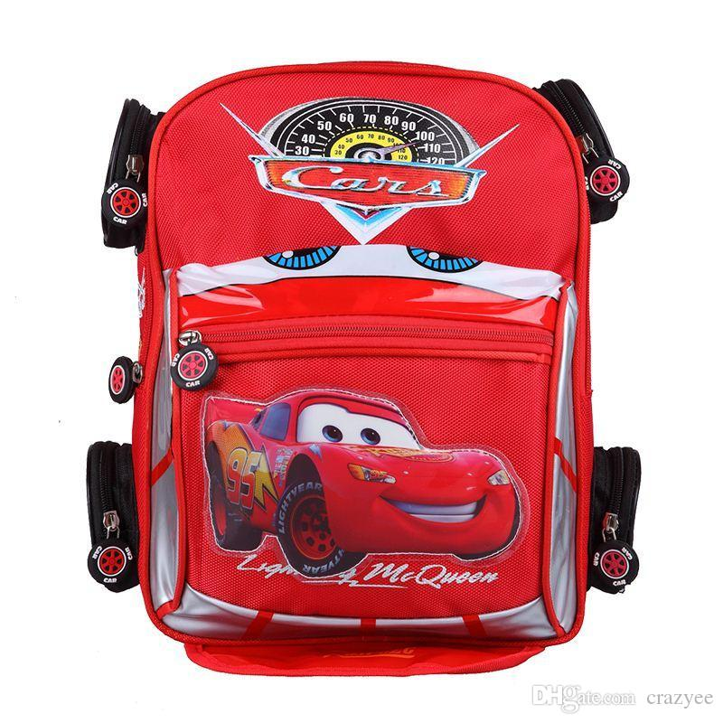8eaeff9d279 Good Quality 3D Car Backpack School Bag Children Character Car-styling  Backpacks For Kids Cars Boys Backpack Child School Bag Backpack Minecraft School  Bags ...