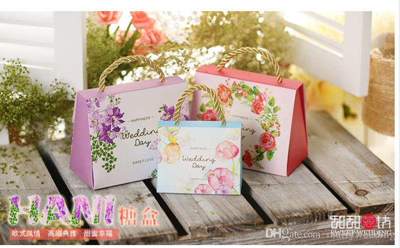 ful Personality Favor Boxes Wedding Candy Boxes Papery 100 PecsSquare Special Wedding Party Favors For Wedding Gifts Boxes