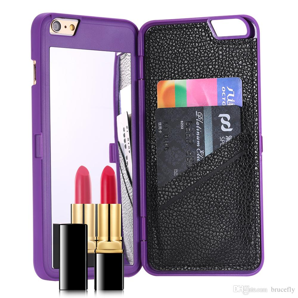 outlet store 85238 c4f44 make up Luxury cc ifrogz charisma mirror wallet design case cover for  iPhone 6 and 6 Plus Mobile Phones cases