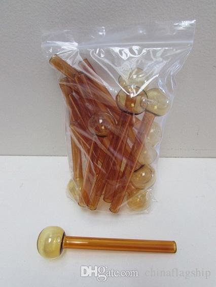 Grand pas cher coloré grand tube de brûleur à mazout en verre de pyrex
