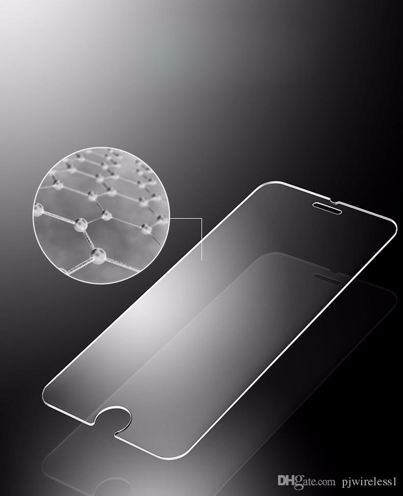 Tempered Glass For ZTE Avid 4 MetroPCS Blade Force N9517 Warp 8 Tempo X N9137 Screen Protector Film without retail package C