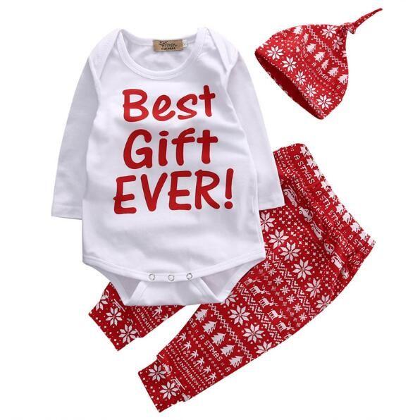 2pcs Christmas Newborn Bodysuit Lace Baby Girl Clothing Baby Bodysuit Cotton Jumpsuit Red Toddler Girl Clothing Infant Jumpsuit Bodysuits