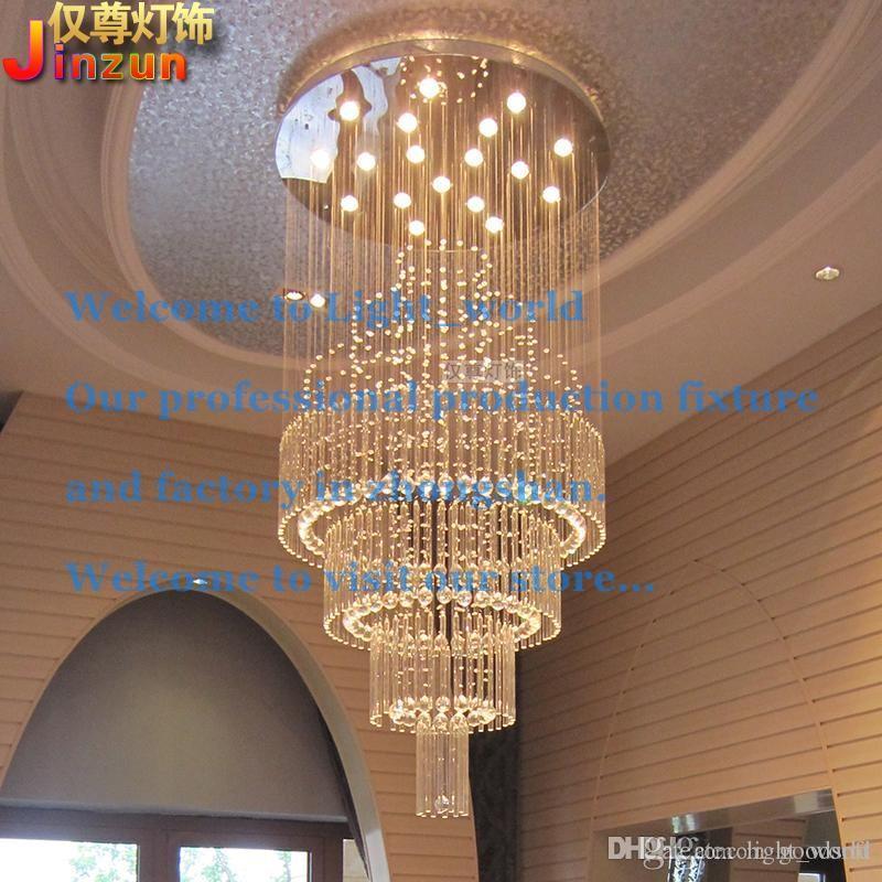 Fashion Creative Crystal Ceiling Lamp Individuality Luxury