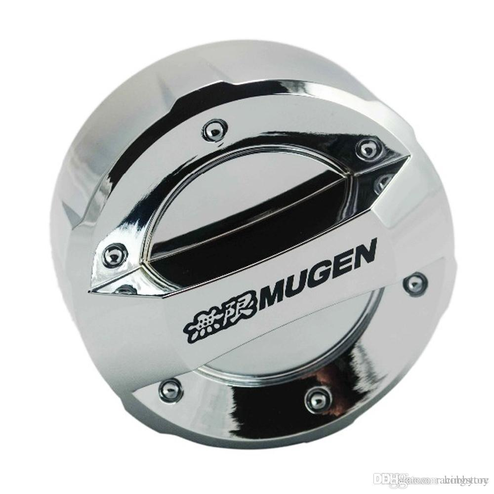 Siliver Color Plastic Mugen Fuel Oil Tank Cover For Honda Accord ...