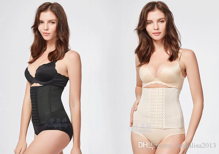 Donne Vita S XXL XXXL Vita Formazione Cinghia del corsetto di addestramento Sport Vita Trainer Cincher Forma dello Shaper del corsetto nero beige I 2016