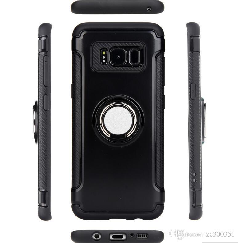 66862525b6528 Compre Samsung S8 Suporte Da Armadura Anel Da Armadura De Anel De Fibra De  Carbono S8plus Telefone Magnético Do Carro Cobre De Zc300351, $3.01    Pt.Dhgate.