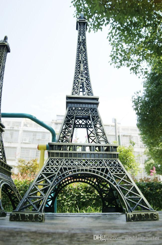 Large Size 72 Cm 3d Paris Eiffel Tower Model Bronze Metal