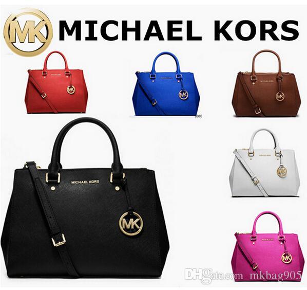 f40676358bc26a ... large concessions 2018 Mk WomenS Fashion Bag Purse Gg Kor Famous Brand  Louis Co ch Handbags Kate Ladies ...