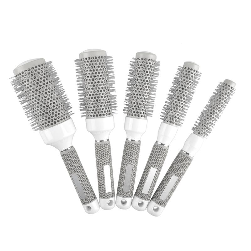 Rotolo Tondo Pettine Barbiere Parrucchiere Spazzola capelli Styling 19mm 25mm 32mm 45mm 53mm / set 0604076