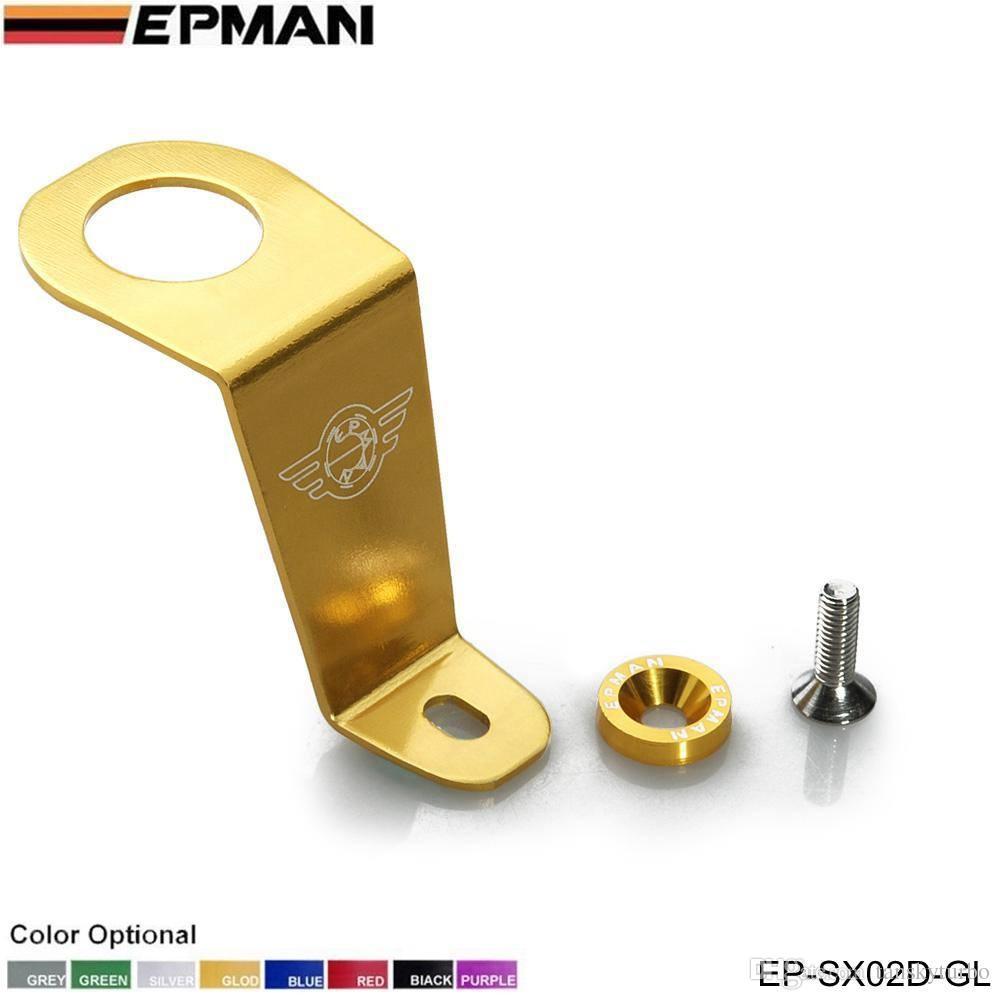EPMAN carreras genuina - radiador de aluminio estadía soporte para Honda CIVIC 92-95 EG6 EG9 por ejemplo Si para Password: JDM Style EP-SX02D