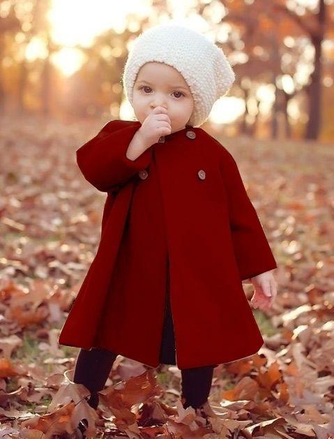 Neonate Moda Autunno e Inverno Capispalla Mantello invernale Bottone Jaket Cappotto caldo