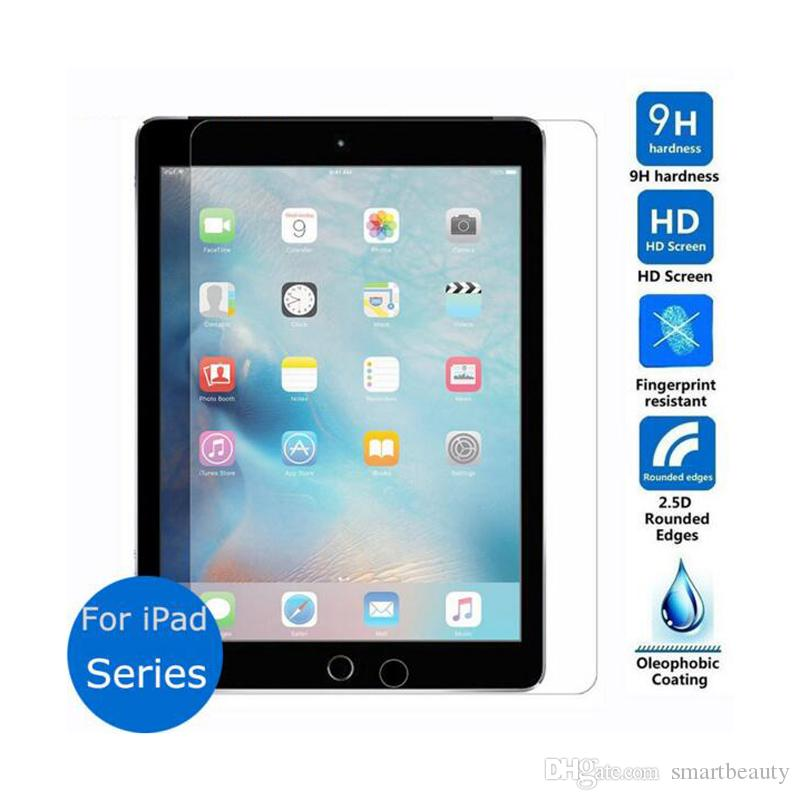 Protective guard film for ipad Series glass transparent premium 9H tempered glass screen protector for iPad mini